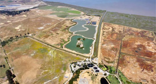 Aerial View of Las Gallinas Valley Sanitary District